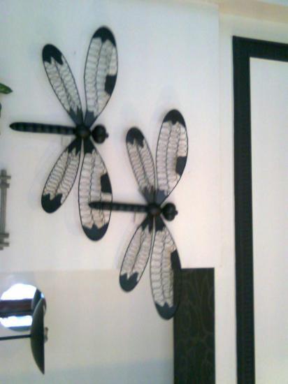 Papillon en  fer